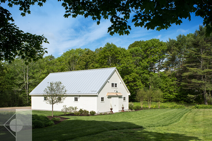 1812 Farm: Service - Utility Building in Bristol, Maine by Phelps Architects.