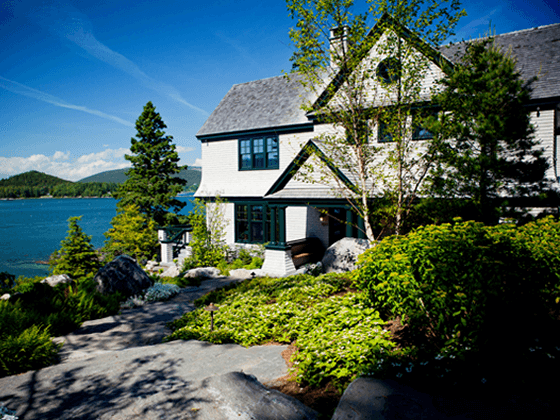 Portfolio residential design by phelps architects for Maine residential architects