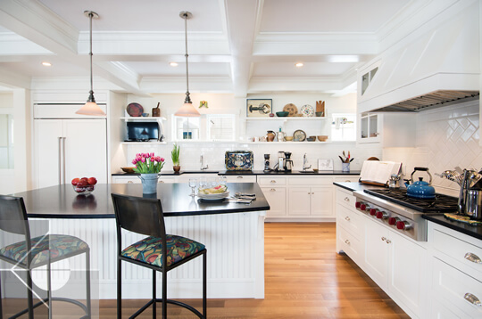 Interior Design Of Kitchen Pantry In Bristol Maine Home By Phelps Architects Maine