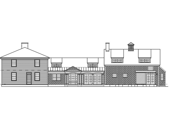 Portfolio image of a residential architectural design in Newcastle, Maine by Phelps Architects