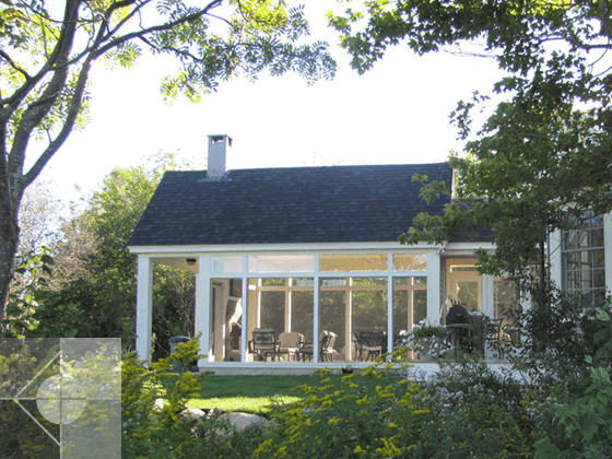 Portfolio image of a residential architectural design in Port Clyde, Maine by Phelps Architects