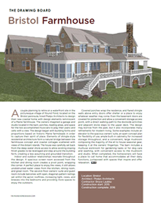 Image of the article The Drawing Board in the April 2015 issue of Maine Home & Design.