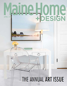 Link to Maine Home & Design article, Best Laid Plans, which recognizes Michelle B. Phelps for interior design.