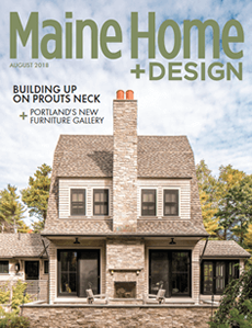 Link to Maine Home & Design article, Cottage Charm, which recognizes Michelle B. Phelps for interior design.